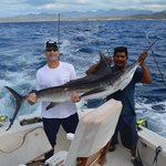 Striped Marlin in Cabo on RedRum