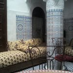 typical Moroccan living room