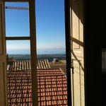 view of Mediterranean Sea from room without terrace