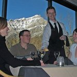 Wildfire Grill at the Inns of Banff - great views