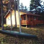 Our 2 bedroom cottage - overlooking the Miramichi river.