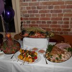 80th party buffet