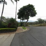 Dead end which is where Hotel Wailea is located. Not a nice feeling coming home at night. No lig