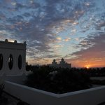 Amazing sunsets at the Riu Karamboa