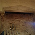 14th Century fireplace in Bridge House
