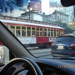 Trolley on Canal St,