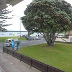 Front units have great views of Pilot Bay and Mt Maunganui