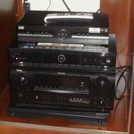 Entertainment Center audio video equipment
