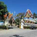 The local Wat (buddhist temple) down the road