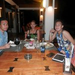Dinner with my cousin's