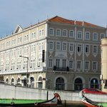 Hotel Aveiro Palace from the Canal