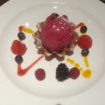 Berries and Sorbet