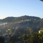 Morning view of hillside