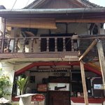 This is the front of Spicy Laos where the locals know as Lemon Laos. It is 2 stories building