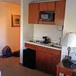 Room 213 Kitchenette