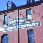 Front facade of the brewery.