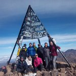 top of Mt Toubkal