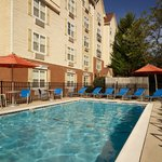 Guests can relax in the Georgia sun at our outdoor pool.