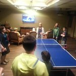 Ping Pong in the Activity Center
