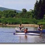 Canoeing on the Margaree River