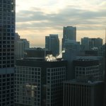 View from our room on the 37th Floor towards Lake Michigan
