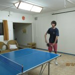 Our table tennis arena
