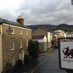 View From Dragon - Crickhowell High Street