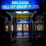 Entrance to Chill Out Resort