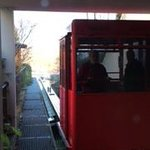 Funicular at the hotel