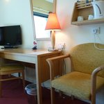 Room TV and Writing Desk