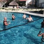 Pool Volleyball was awesome