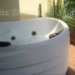 Our jacuzzi in our balcony