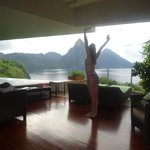 Morning Stretch Jade Mountain Style