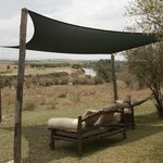 Relax with a great view on the Mara river