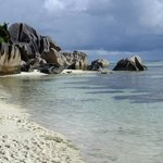 Seychelle beach - La Digue