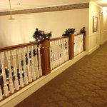 2nd floor banister