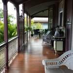 The B & B Front Veranda
