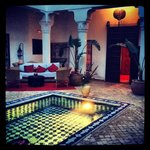 Inside of Riad