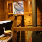 The little sauna :)