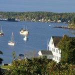 Boothbay Harbor from our room