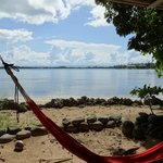 Hammocks and beach