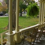 Front Porch--Cooperstown Inn