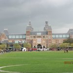 A photo of the Rijks Museum