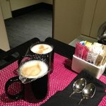 This is what you call in-room cappuccino? For $16!!! You're better than that W...Very dissapoint