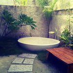 Bathtub outside
