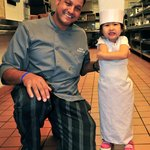 Junior chef with Chef Hany