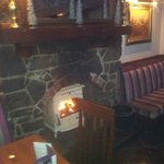 New wood burning stove just installed to make the restaurant cosy in these cold winter nights
