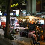 NIGHT MARKET NEAR THE HOTEL