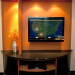 Executive King Suite Entertainment Center
