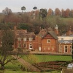 Wotton House from back gardens.